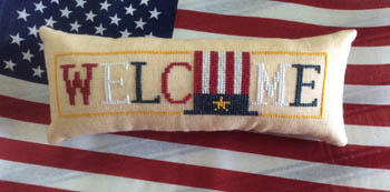 Needle Bling Designs Wee Welcome ~ Patriotic