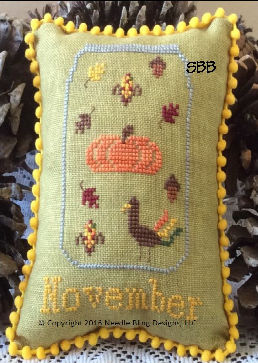 Needle Bling Designs Whats In Your Jar ~ November