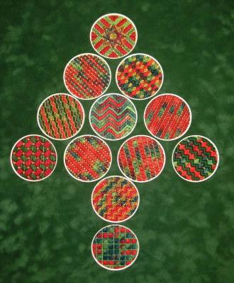 Needle Delights Originals Christmas Ornament Tree #2