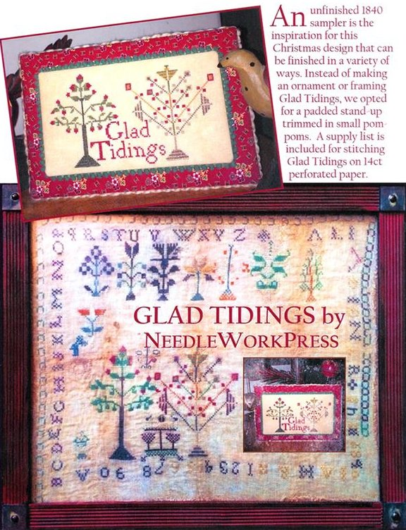NeedleWorkPress Glad Tidings