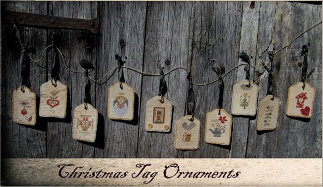 Nikyscreations Christmas Tag Ornaments