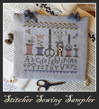 Nikyscreations Stitcher Sewing Sampler