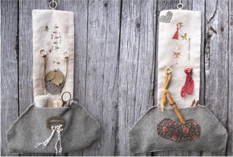 Clearance Nikyscreations Seasonal Hanging Pocket Hangers ~ Spring & Summer