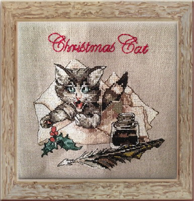 Nimue NE145G Christmas Cat