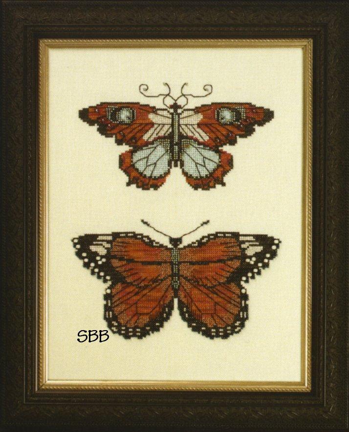 Nora Corbett Designs  #NC105 Butterflies of Gold