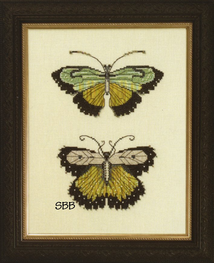 Nora Corbett Designs  #NC106 Butterflies of the Meadow