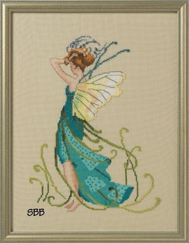 Nora Corbett Designs  #NC268 Pond Pixies ~ Water Reeds