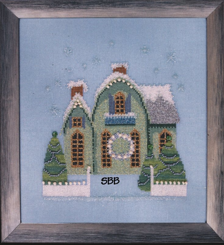 Nora Corbett Designs Snow Globe Village Series
