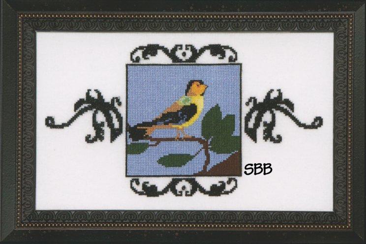 Nora Corbett Designs  #NC184 Audubon Street Collection ~ Goldfinch