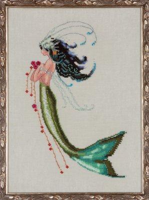 Nora Corbett Designs  #NC192 La Petite Mermaids Collection ~ Mermaid Verde