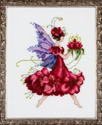 Nora Corbett Designs  #NC198 Pixie Blossom Collection ~ Geranium
