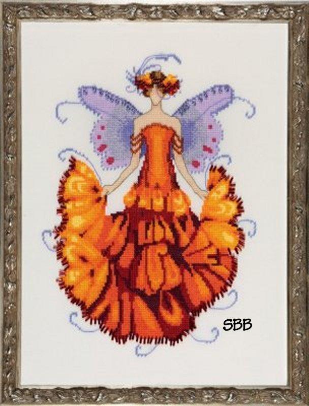 Nora Corbett Designs  #NC200 Pixie Blossom Collection ~ Marigold