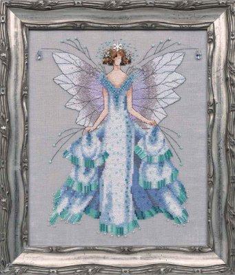 Nora Corbett Designs  #NC204 Pixie Seasons Collection ~ Faerie Winter Dream