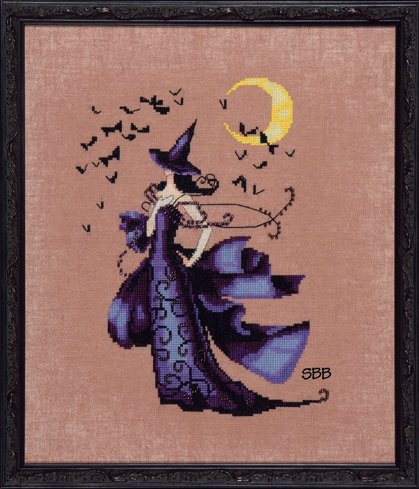 Nora Corbett Designs  #NC222 Bewitching Pixies ~ Raven