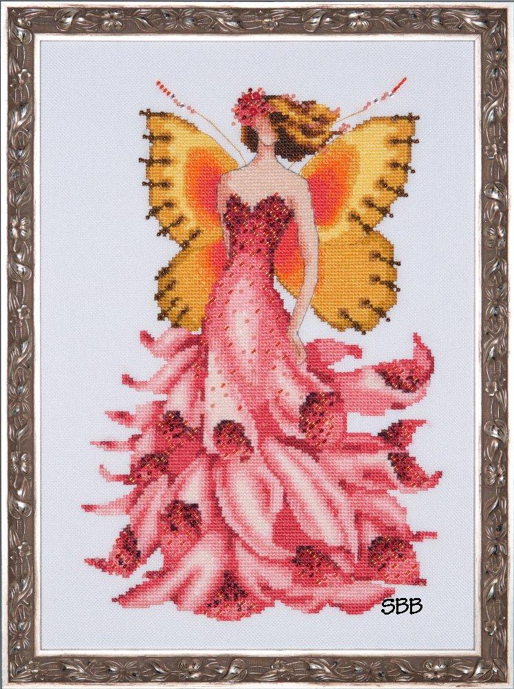 Nora Corbett Designs  #NC229 Pixie Blossom Collection ~ Foxglove