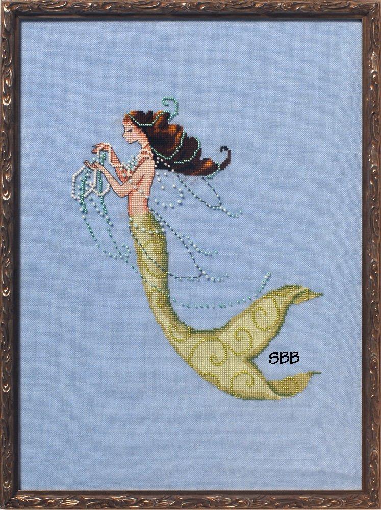 Nora Corbett Designs  #NC233 La Petite Mermaids Collection ~ Tesoro Mia