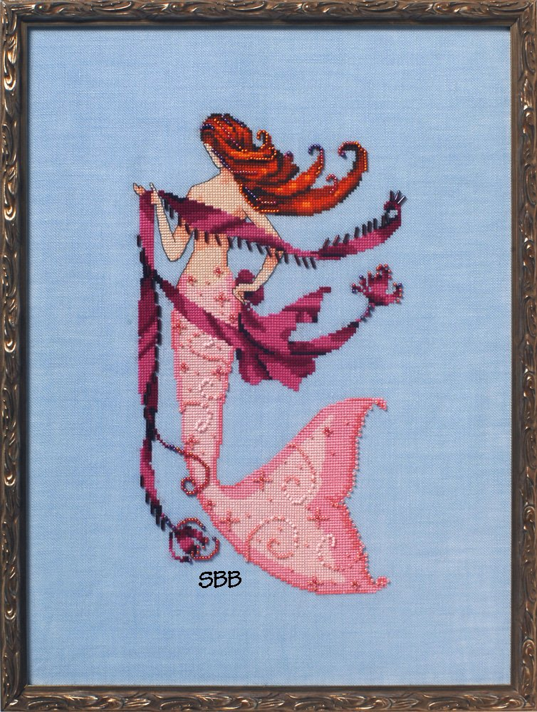 Nora Corbett Designs  #NC234 La Petite Mermaids Collection ~ Solo Tua