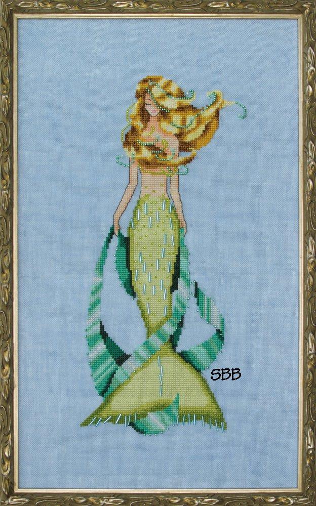 Nora Corbett Designs  #NC236 La Petite Mermaids Collection ~ Luce Mia