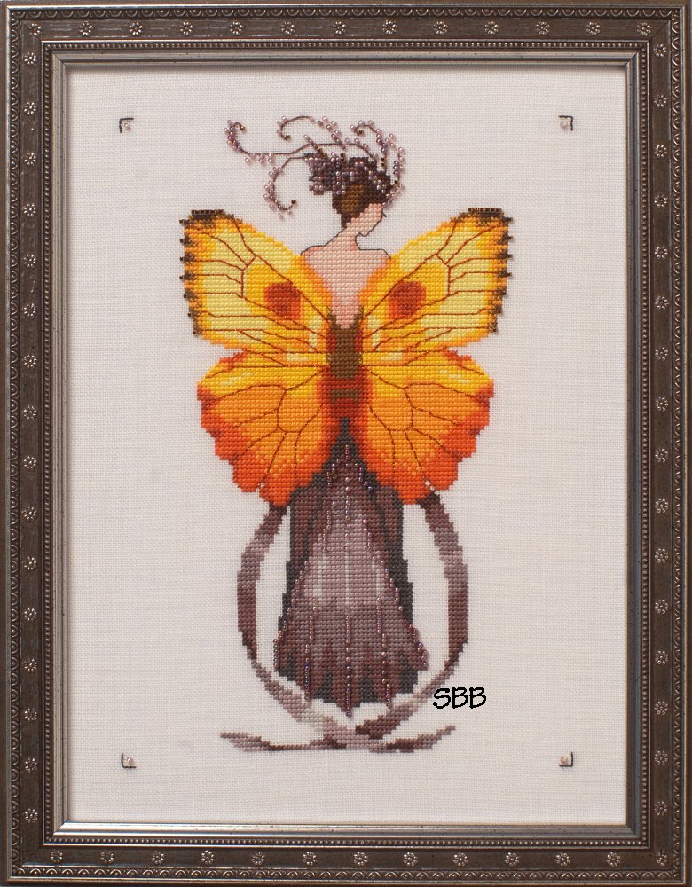 Nora Corbett Designs  #NC239 Butterfly Misses Collection ~ Miss Solar Ellipse