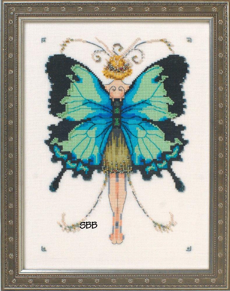 Nora Corbett Designs  #NC241 Butterfly Misses Collection ~ Miss Goss Swallowtail