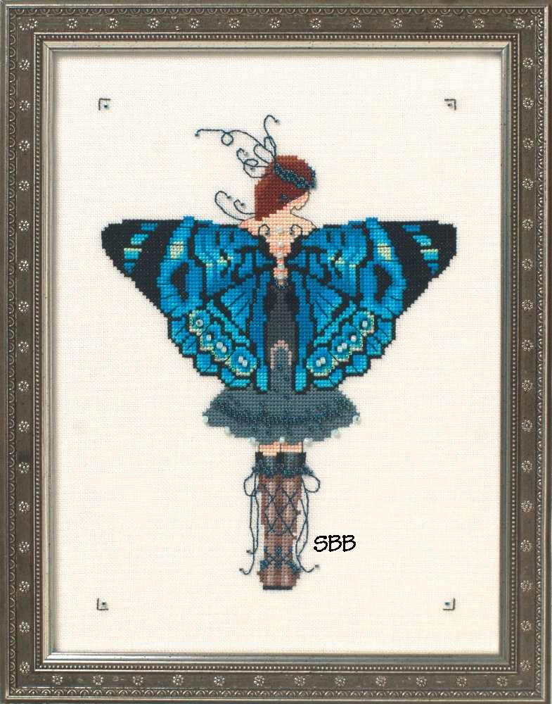 Nora Corbett Designs  #NC242 Butterfly Misses Collection ~ Miss Columbian Nymphalid