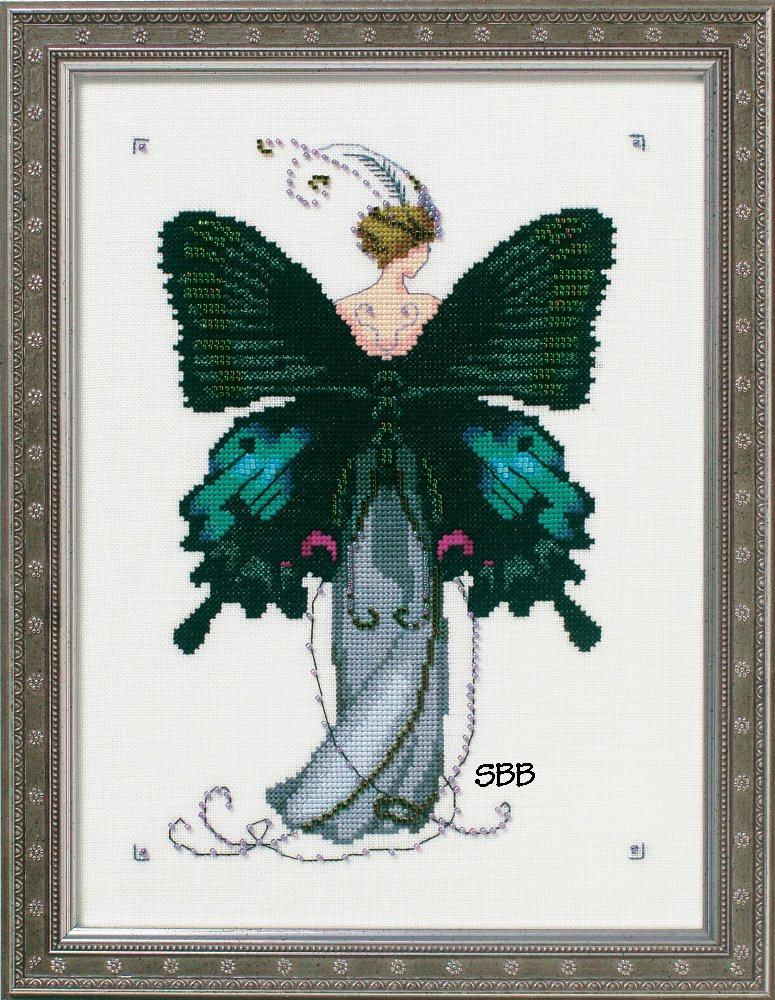 Nora Corbett Designs  #NC243 Butterfly Misses Collection ~ Miss Black Swallowtail