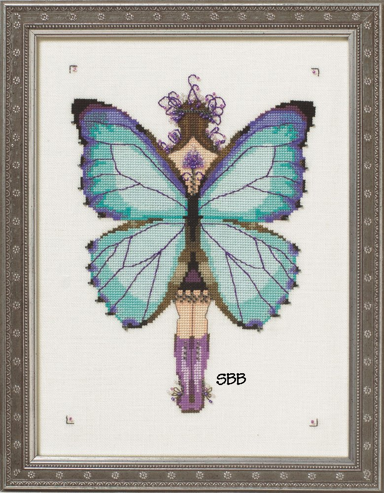 Nora Corbett Designs  #NC244 Butterfly Misses Collection ~ Miss Aurora Morpho