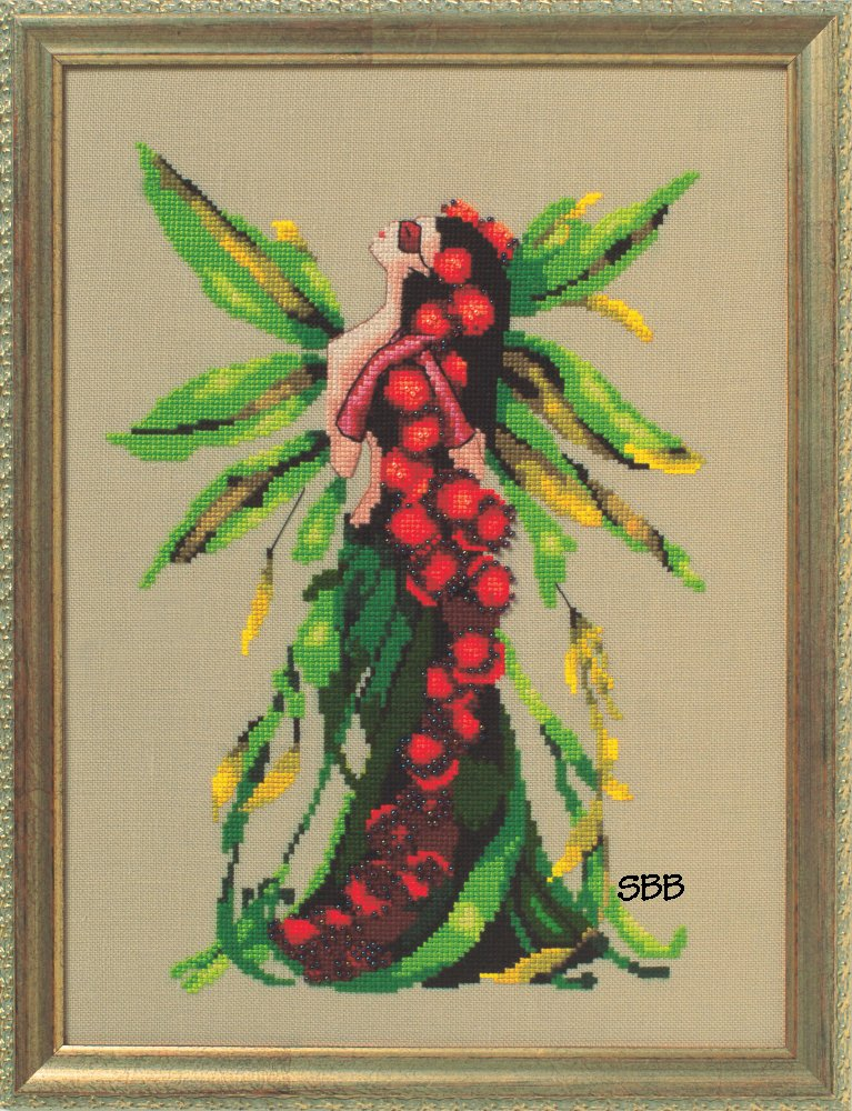 Nora Corbett Designs  #NC248 Poison Pixies ~ Castor Bean