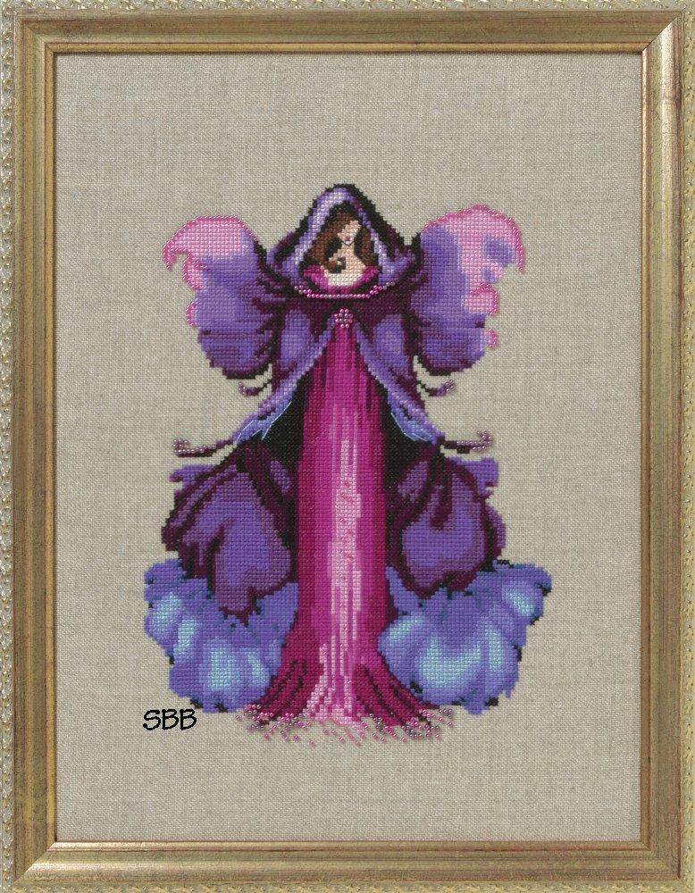 Nora Corbett Designs  #NC249 Poison Pixies ~ Monkshood