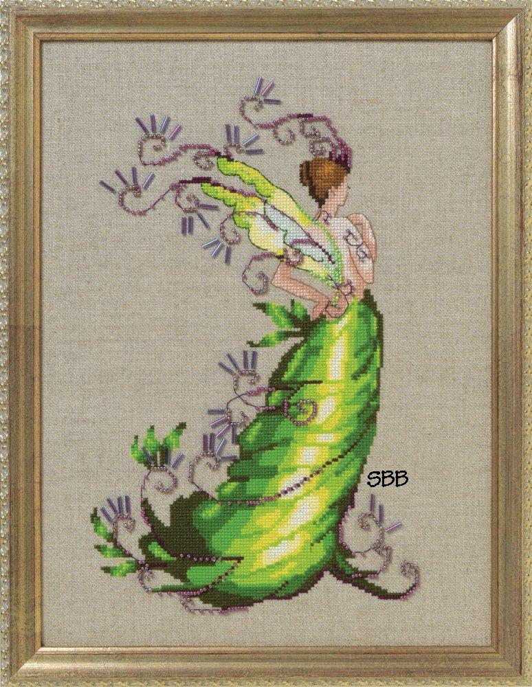 Nora Corbett Designs  #NC250 Poison Pixies ~ Poison Ivy
