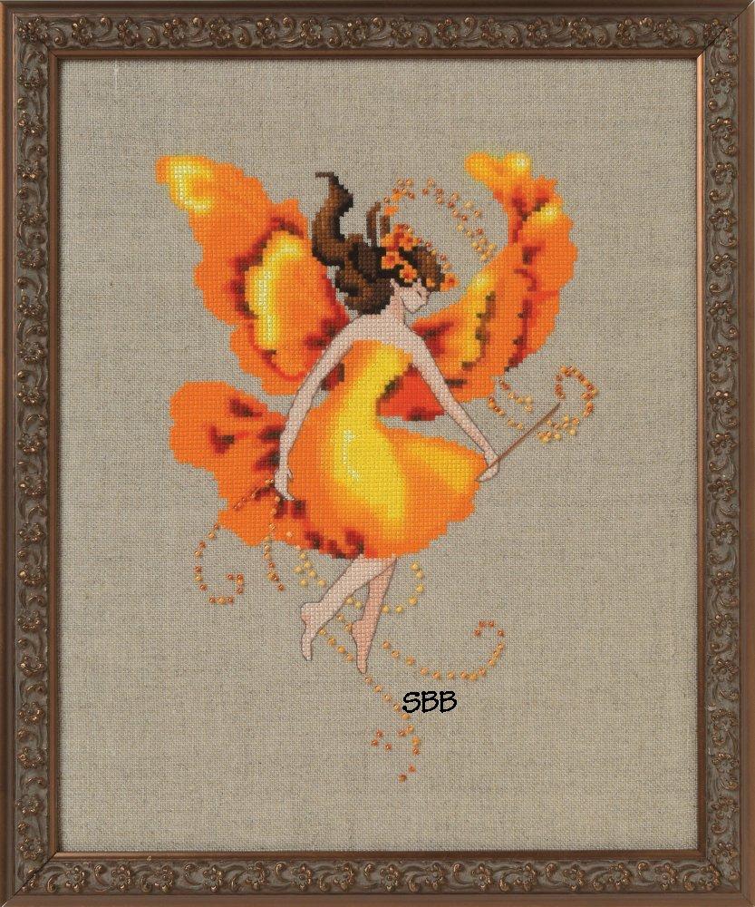 Nora Corbett Designs  #NC251 Autumn Pixies ~ Autumn Flame