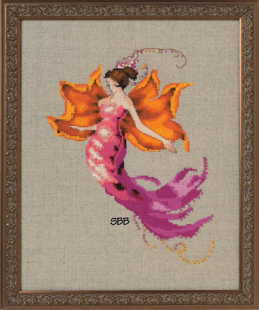Nora Corbett Designs  #NC252 Autumn Pixies ~ Autumn Blaze