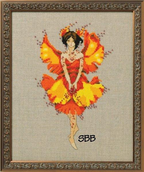 Nora Corbett Designs  #NC254 Autumn Pixies ~ Miss Ginko