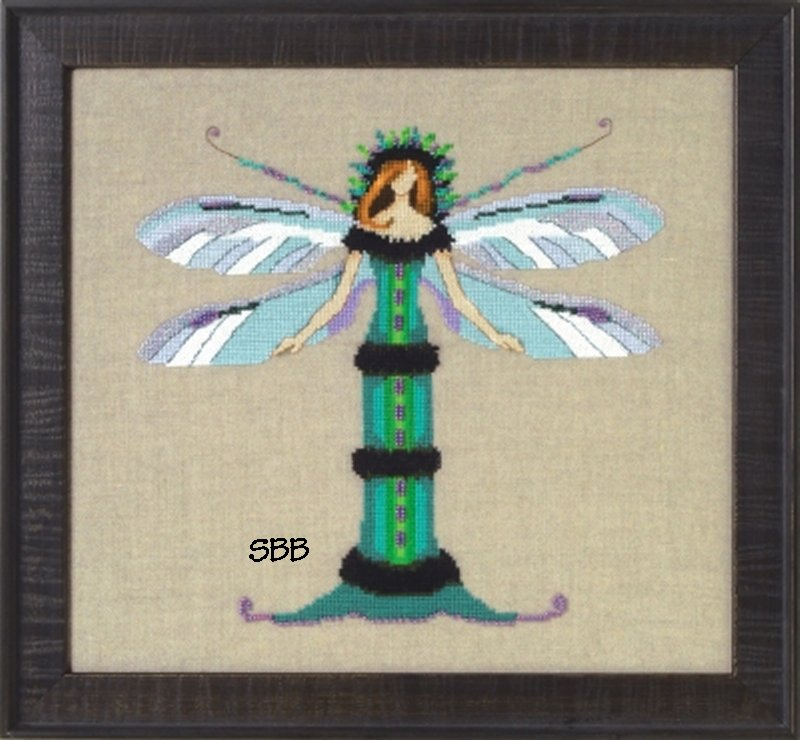 Nora Corbett Designs  #NC257 Intriguing Insects ~ Miss Dragonfly