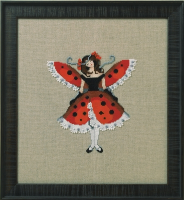 Nora Corbett Designs  #NC260 Intriguing Insects ~ Miss Ladybug