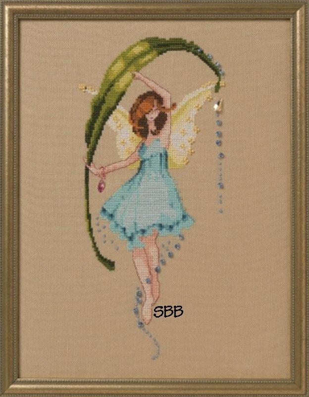 Nora Corbett Designs  #NC265  Pond Pixies ~ Dewdrops