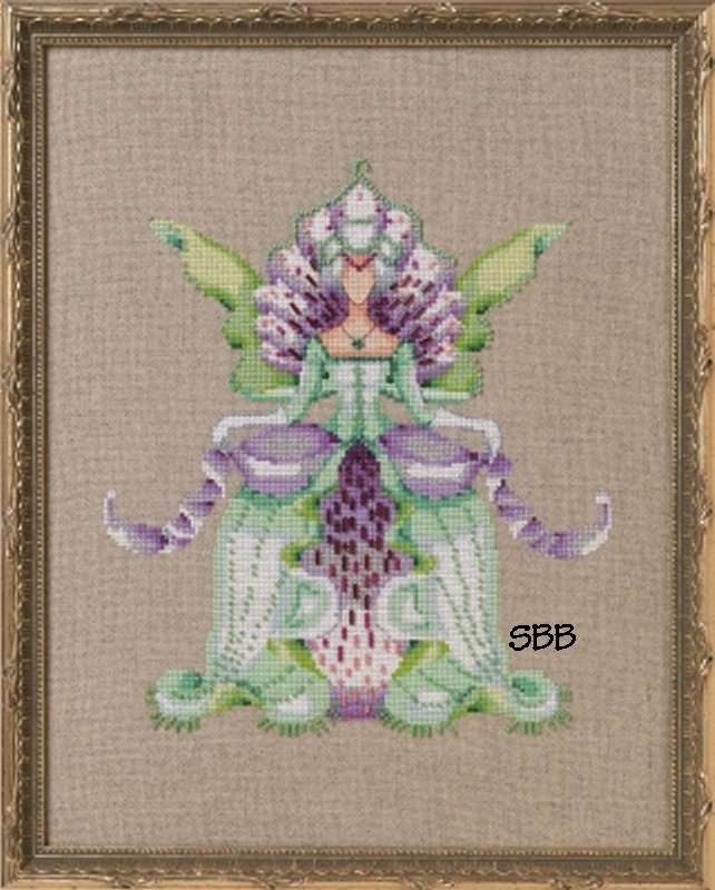 Nora Corbett Designs  #NC269 Orchid Party ~ Imperial Lady D