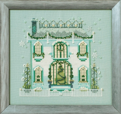 Nora Corbett Designs  #NC281 Holiday Village ~ Mr Darby's House