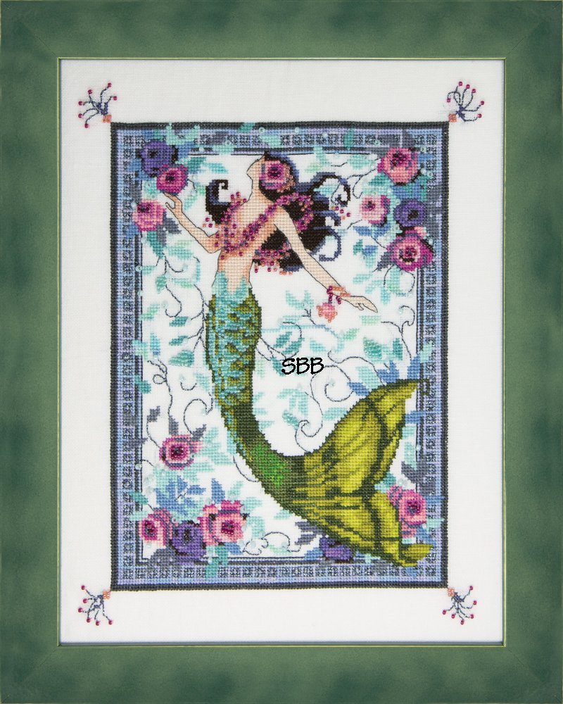 Nora Corbett Designs  #NC285 Moonlight Laguna Mermaid