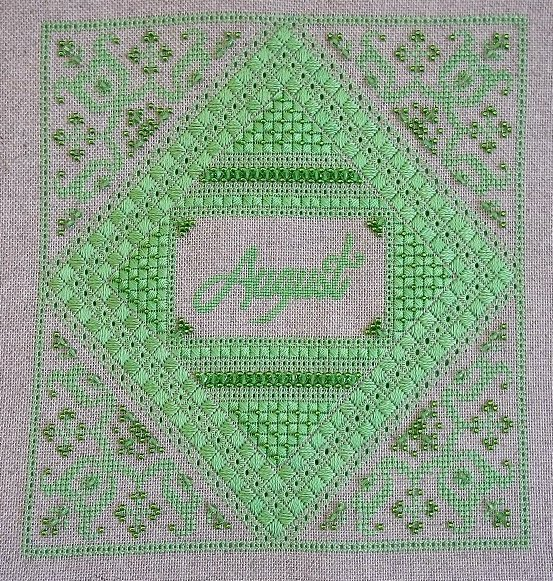 Northern Expressions Needlework August ~ Peridot