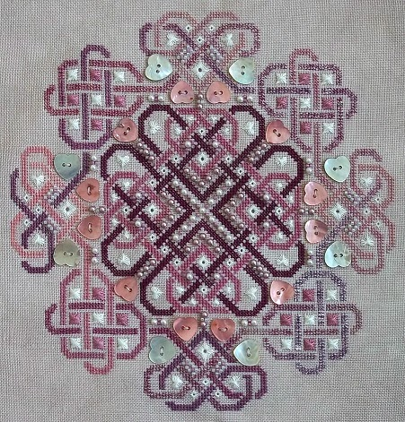 Northern Expressions Needlework Celtic Valentine