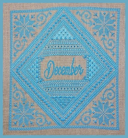 Northern Expressions Needlework December ~ Turquoise