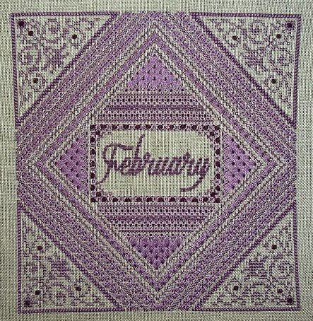 Northern Expressions Needlework February ~ Amethyst