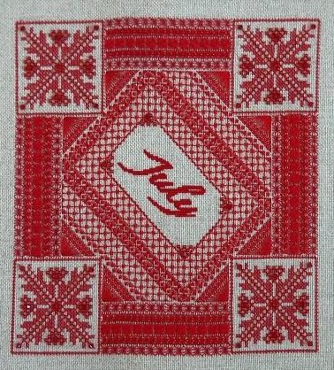 Northern Expressions Needlework July ~ Ruby