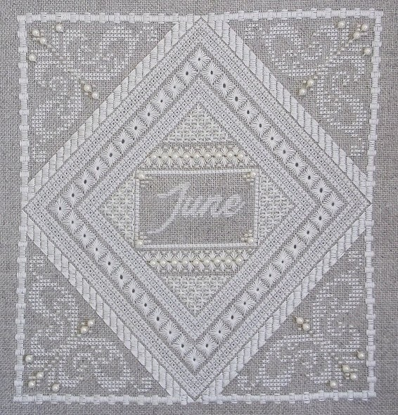 Northern Expressions Needlework June ~ Pearl