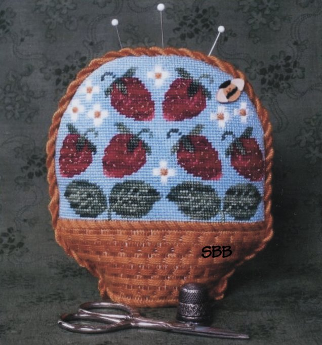 The Needle's Notion Berry Basket Pin Cushion