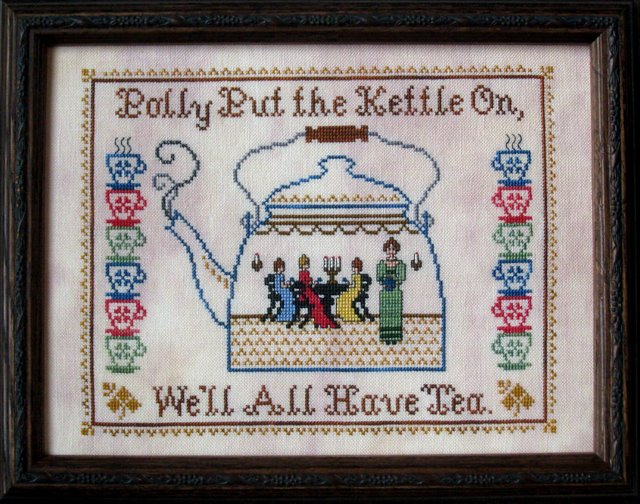 The Needle's Notion Polly's Tea Kettle