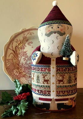The Needle's Notion Sampler Santa