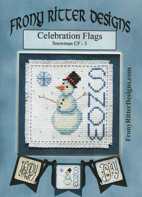 Nashville 2017 Celebration Flags Snowman