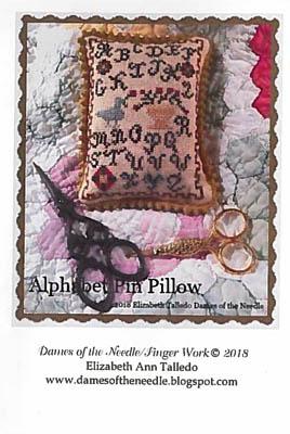 Nashville 2018  Alphabet Pin Pillow